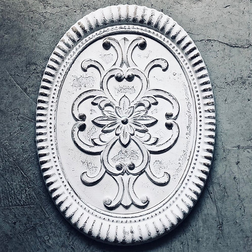 Ovalo pared metal