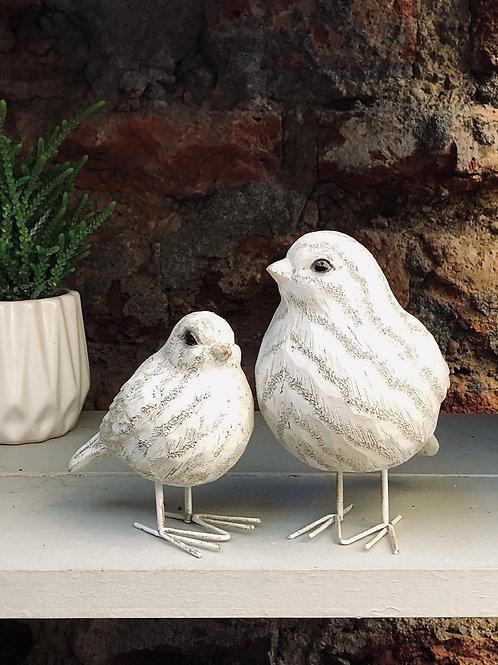 """Pájaro Blanco """"S"""""""