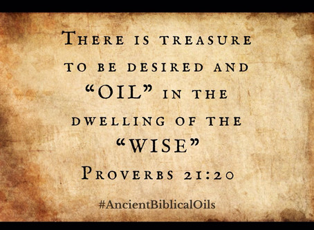 """Oil"" and the house of the WISE!"