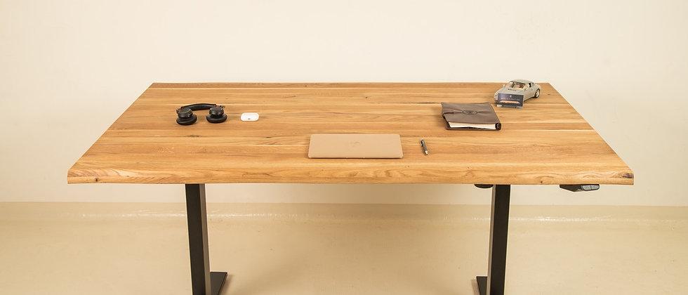 Home Office Line: Schreibtisch Light Oak