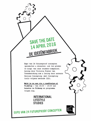 Save the date : Thursday 14 april