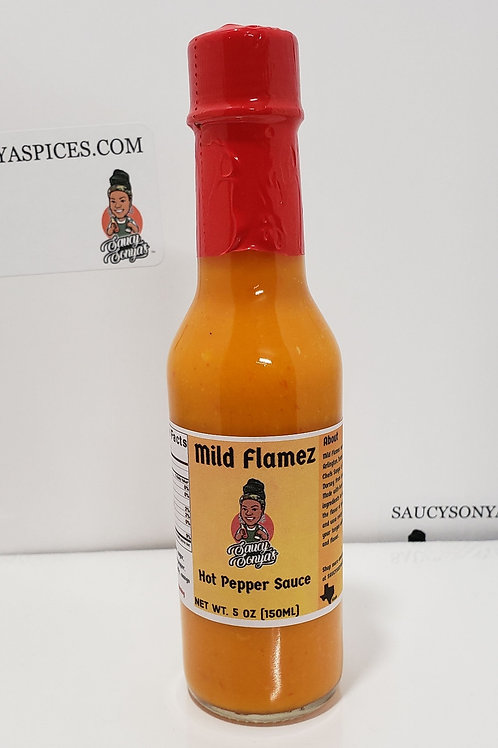 Mild Flamez Hot Pepper Sauce 5oz
