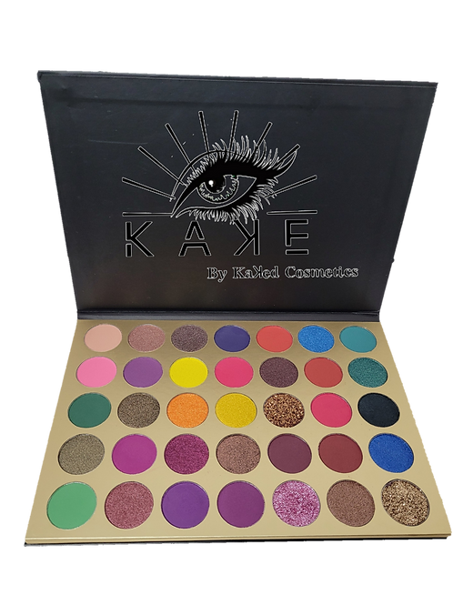 Eye Kaꓘe- Sassy Gal 35 Color Eyeshadow Palette