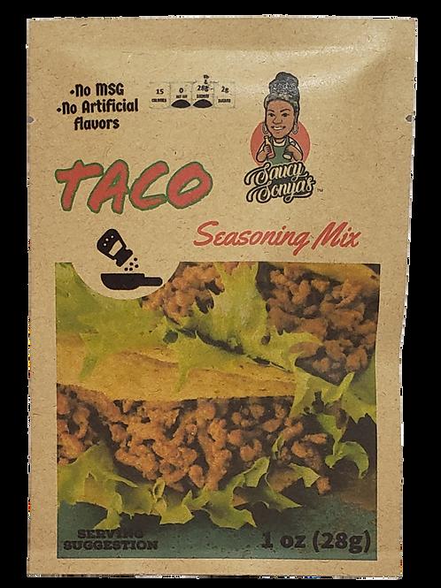 Saucy's Taco Seasoning Mix