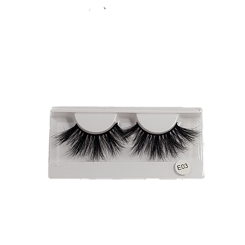 Kaꓘe Lashes-#3/ 25mm