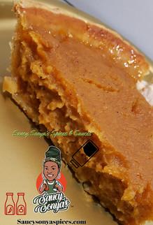 Saucy Homemade Louisiana Sweet Potato Pie