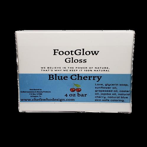 Foot Glow Gloss- Blue Cherry