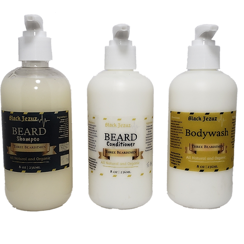 Three Beardzmen Kit 8 oz