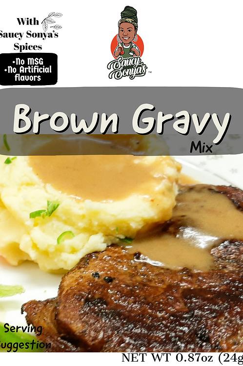 Saucy's Brown Gravy Mix