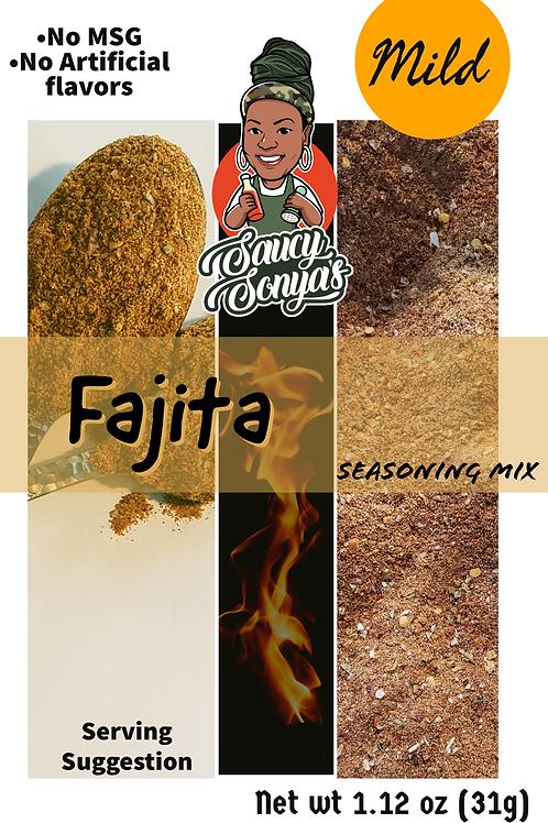 Fajita Seasoning Mix 1.12oz (mild)