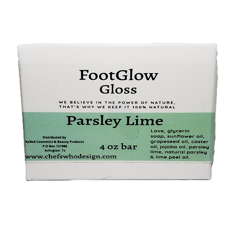 Foot Glow Gloss-Parsley Lime
