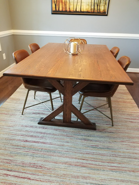 Reclaimed Silo Table