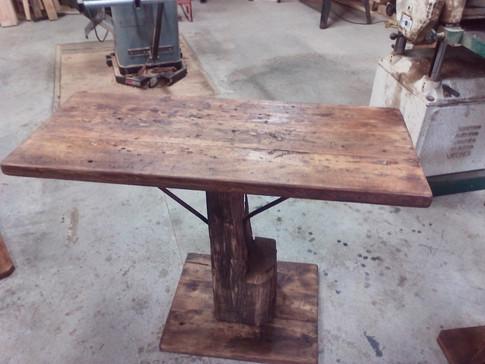 Barn Beam Side table