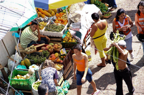 Traditional Colombian markets