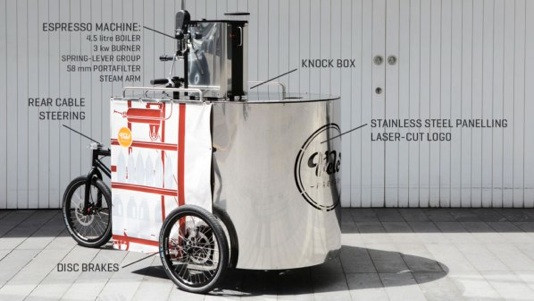 The Colombian Coffee Co. - Velopresso Urban Coffee Trike