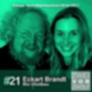 Cover der Folge 21 von ZWEIvorZWÖLF Podcast mit Eckhart Brandt