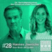 Cover der Folge 28 2 vor 12 Podcast mit Hannes Jaenicke