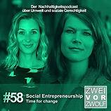 Cover zur 58. Episode ZWEIvorZWÖLF mit SEND Katrin Elsemann
