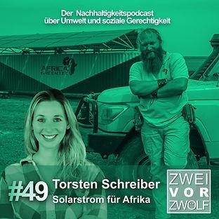 Cover der Episode 49 von ZweivorZwölf mit Torsten Schreiber