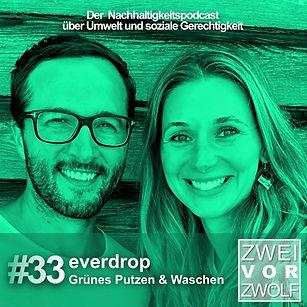 Cover der Folge 33 Podcast Zweivorzwölf mit Everdrop David Löwe