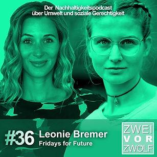 Leonie Bremer von Fridays for Future spricht mit Andrea im Podcast 2vor12