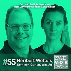 Cover der 55 Episode Zwei vor Zwölf 2vor12 mit Heribert Wettels