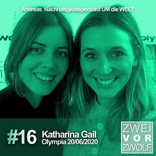Cove der Folge 16 Zweivorzwölf mit Katharina Gail