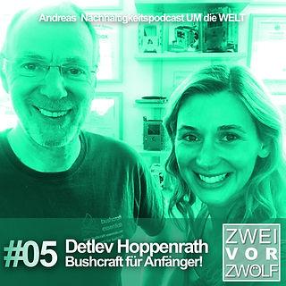 Cover ZWEIvorZWÖLF Folge 05 mit Detlev Hoppenrath