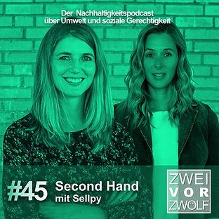 Cover der Folge 45 von Zwei vor Zwölf mit Sellpy