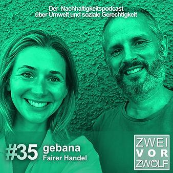 Andrea spricht mit Adrian Wiedmer über gebana
