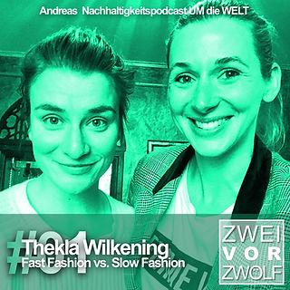 ZWEIvorZWÖLF Folge 01 mit Thekla Wilkening