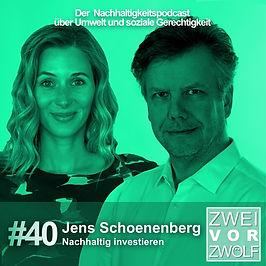 Cover der Folge 40 von ZWEIvorZWÖLF mit Jens Schoenenberg