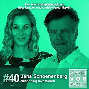 Cover der Folge 40 von 2vor12 mit Jens Schoenenberg