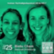 Cover der Folge 26 des Podcasts Zweivorzwölf mit Gloria Boateng Nachhaltigkeit