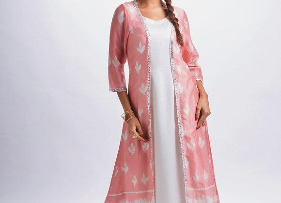 Lotus Pink Shibori Jacket