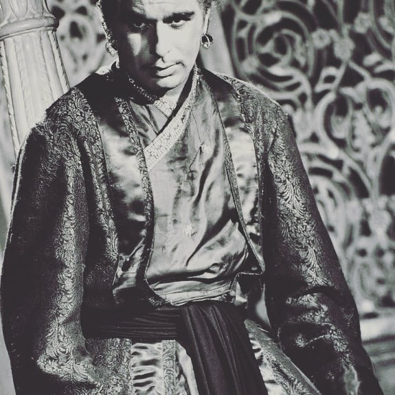 Dilip Kumar wore a handwoven Himroo in the classic movie Mughal E Azam