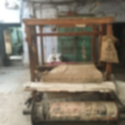 Unused Himroo loom, Aurangabad
