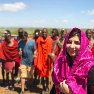 Maryam in Masai Mara
