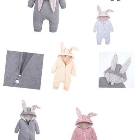 Personalised bunny onesie