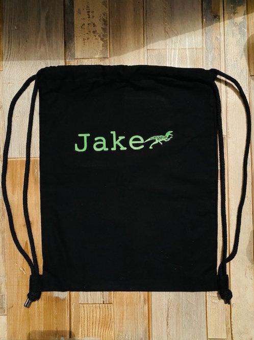 Personalised Drawstring bag.