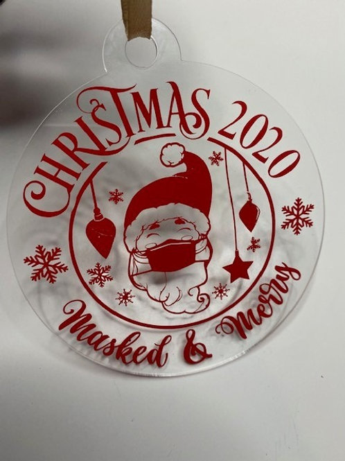 Masked and Merry Bauble 011