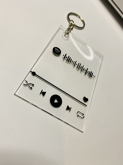 Spotify key ring
