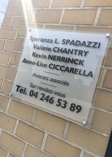 Cabinet d'avocats, Spadazzi, Chantry, Nerrinck, Ciccarella, Liège, Grâce-Hollogne, barreau de Liège
