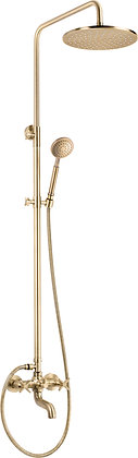 THERMOSTATIC SHOWER SYSTEM WITH BATH MIXER – TEMISTO