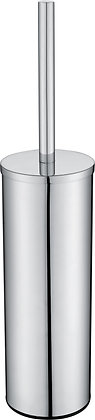 FREESTANDING TOILET BRUSH WITHHOLDER- ROUND - CHROME