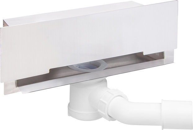 WALL DRAIN WITH FULL COVER
