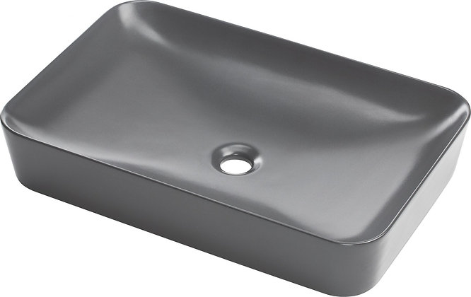 COUNTER-TOP WASHBASIN TESS, ANTHRACITE