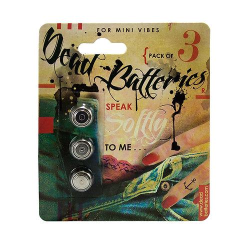 Dead Batteries Watch 3-PackLR44 OR L1154
