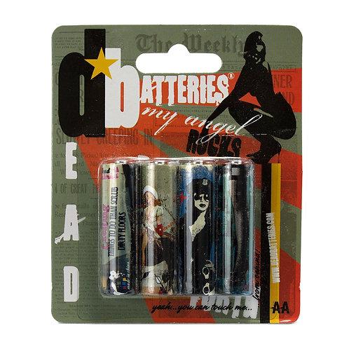 Dead Batteries AA 4-Pack