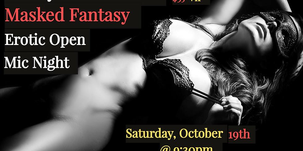 CandyGurl's Masked Fantasy Erotic Open Mic